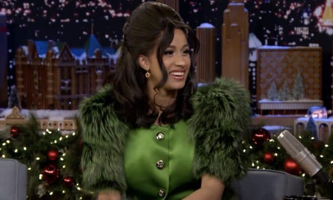 Cardi B sur le Tonight Show Starring Jimmy Fallon