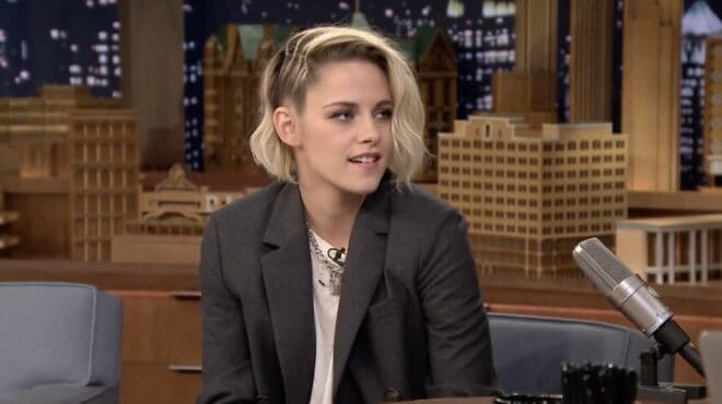 Kristen Stewart sur le Tonight Show Starring Jimmy Fallon